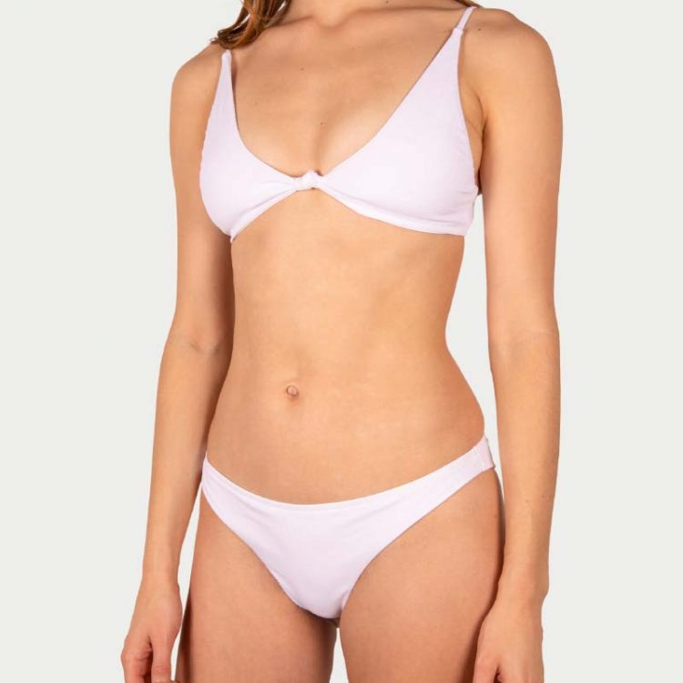 Sicilian Sunday witte bikini set brazilian broekje