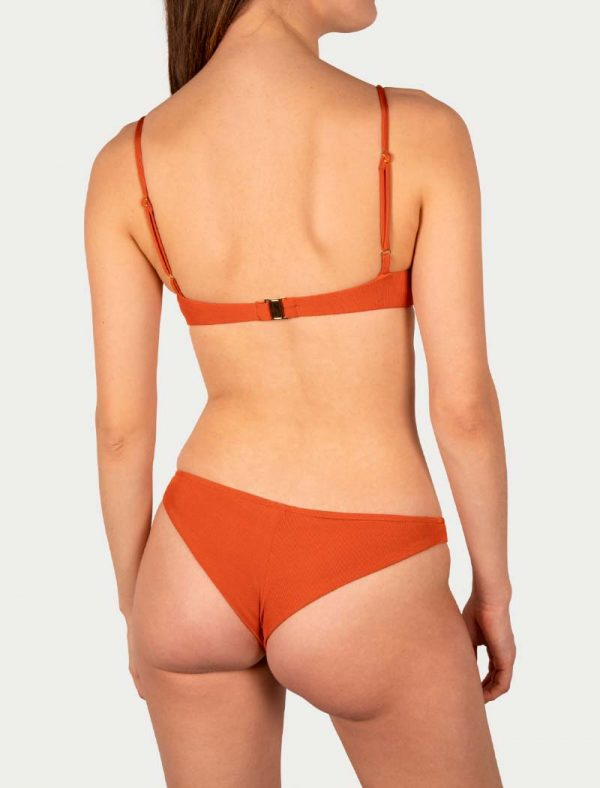 Sicilian Sunday bikini set terra copper brazilian broekje
