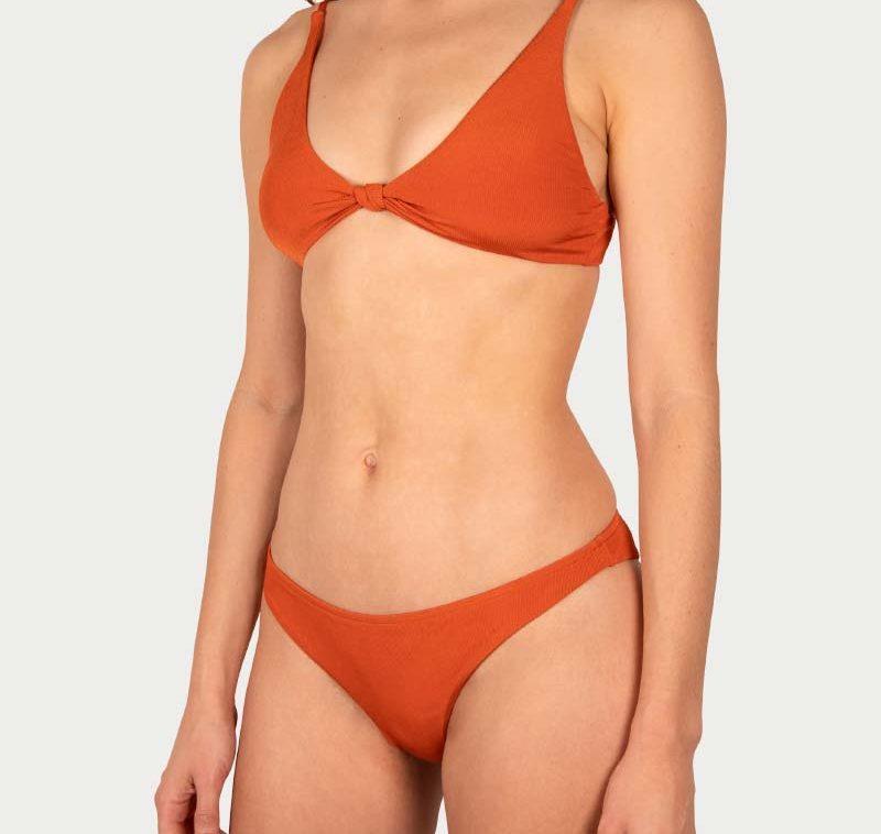 Sicilian Sunday bikini set terra copper brazilian broekje