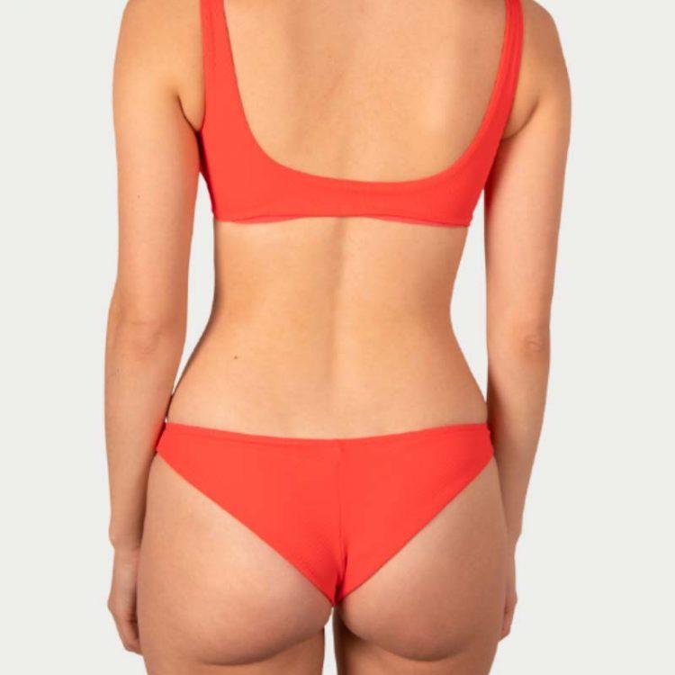 Sicilian Sunday bikini set koraal roze brazilian broekje
