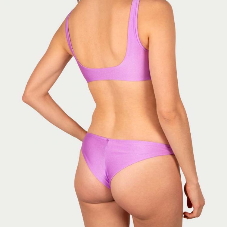 Sicilian Sunday bikini set lila brazilian broekje